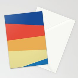 Abstracted Lines Stationery Cards
