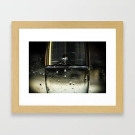 Under water Framed Art Print