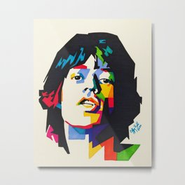 Young Mick Metal Print