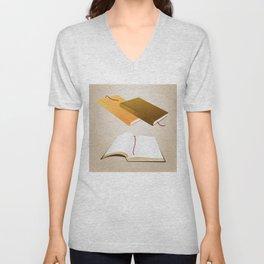 Book collection Unisex V-Neck