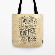 Coffee - Typography v2 Tote Bag
