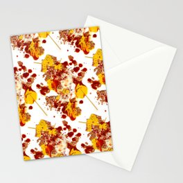 branflakestacosauceparmesanredpeppermustardspaghetti Stationery Cards