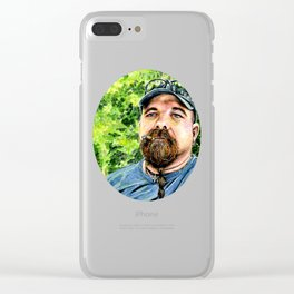 Paul Miller Painting (2015) REVAMP Clear iPhone Case