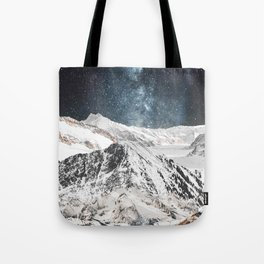 White Mountains Tote Bag