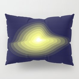 Geometric light glow Pillow Sham