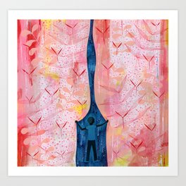 """Dark Matter"" by Scott Bakal for Nautilus Art Print"