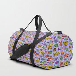 Funky pattern #04 Duffle Bag
