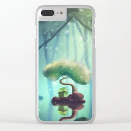 Hermit Clear iPhone Case