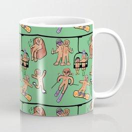 Gingerbread Ski Trip Coffee Mug