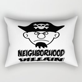 Neighborhood Villain Rectangular Pillow