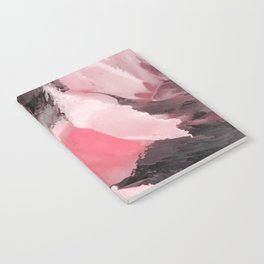 Light Pink Snapdragons Abstract Flowers Notebook