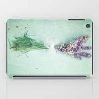 lavender iPad Cases featuring lavender by Sylvia Cook Photography
