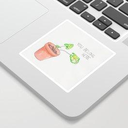 you belong here Sticker