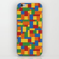wwe iPhone & iPod Skins featuring Lego bricks by eARTh