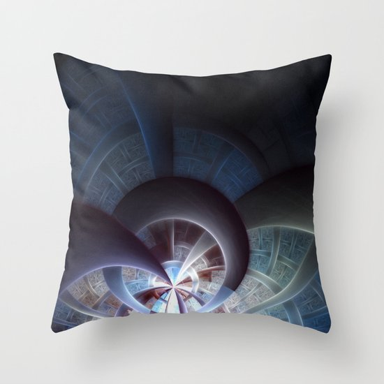 Industrial I Throw Pillow