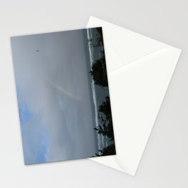 Rainbow over the Ocean Stationery Cards