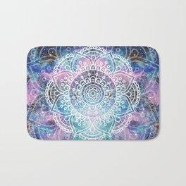 Galaxy Mandala | Boho Watercolor Bath Mat