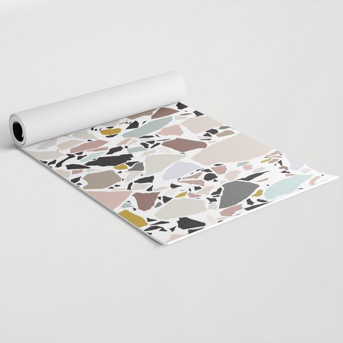 Terrazzo Pattern II. Yoga Mat