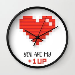 You Are My 1 Up Wall Clock