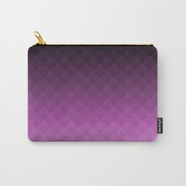 Ombre squares - Purple Carry-All Pouch