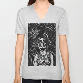 Flapper Siouxsie Unisex V-Neck
