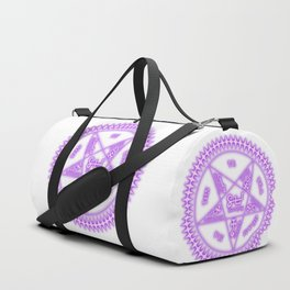 Sebastian Michaelis Sigil Light (white bg) Duffle Bag