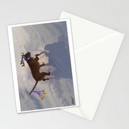 """DREIDEL, DREIDEL, DREIDEL ...Hanukkah PLaY-Do'LPH"" from the photo series, ""My dog, PLaY-DoH"" Stationery Cards"