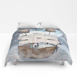 an arctic adventure Comforters