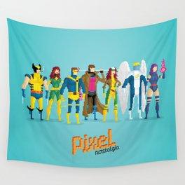 Pixel Mutants Wall Tapestry