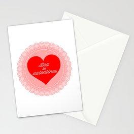 Lez Be Valentines Stationery Cards