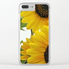 Sun Burst Clear iPhone Case
