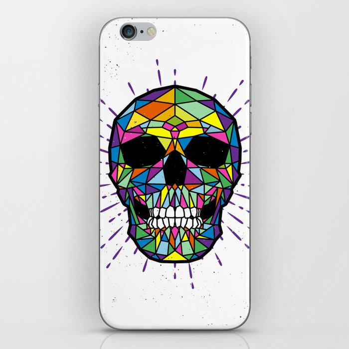 COLOR-SKULL iPhone Skin