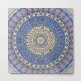 Recreational Maylanta Mandala 76 Metal Print