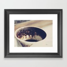 Turkish coffee Framed Art Print