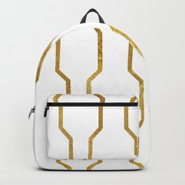 Gold Chain Backpack
