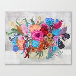 September bouquet Canvas Print
