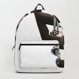 Mushroom woman Backpack