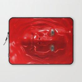 Red liquid Laptop Sleeve