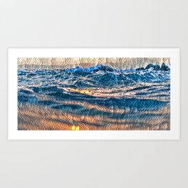THE BEAUTY OF DEPTH ... Art Print