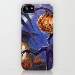 Pumpkinhead iPhone Case