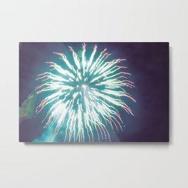 Thai Fireworks Metal Print