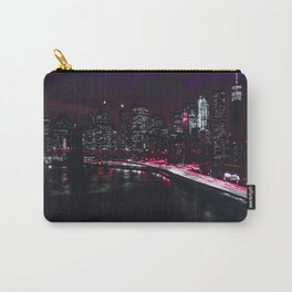 Red New York City Carry-All Pouch