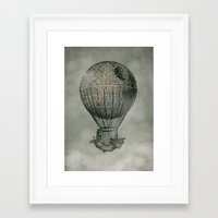monster Framed Art Prints featuring Dark Voyage by Eric Fan