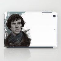sherlock iPad Cases featuring Sherlock by F3NR1R