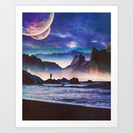 Desolate Coast Art Print