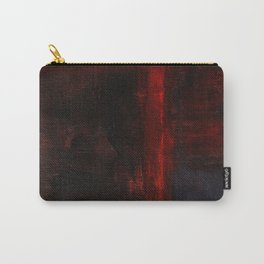Mark Rothko Interpretation Red Blue Acrylics On Canvas Carry-All Pouch