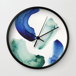 19    | 190816 | Surrender | Abstract Watercolour Painting Wall Clock