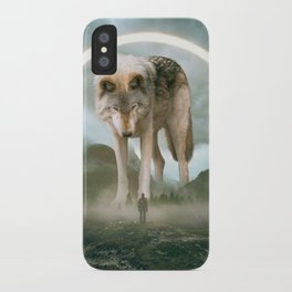 aegis | wolf iPhone Case