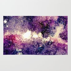 watercolor galaxy Rug