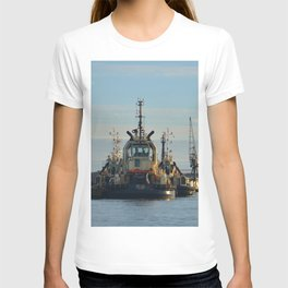 Tug Boat In The Evening Light T-shirt